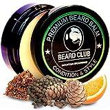 Bálsamo Barba Premium | Mountain Woodsman (Montaña Leñador) | Beard Club | Los Mejores Barba de Loción Suavizante| 100% Naturales y Orgánicos | Excelente Para el Cuidado del Cabello y el Crecimiento