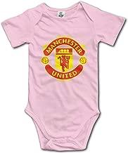 Manchester United Unisex Baby Jumpsuit Short-Sleeve Cotton Bodysuits