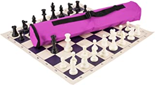 Quiver Chess Set Combination - Triple Weighted - by US Chess Federation