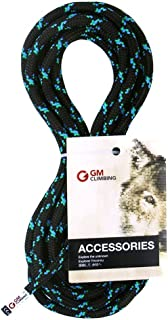 GM CLIMBING 8mm (5/16in) Accessory Cord Rope 19kN Double Braid Pre Cut CE/UIAA