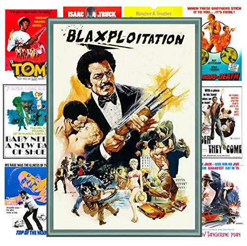 Pixiluv Mini Posters Set [13 Posters 8x11] Blaxploitation Action # Trash Movie Posters Reprint