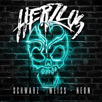 Schwarz-Weiss-Neon