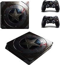 Captain America Playstation 4 Slim Vinyl Skin Sticker Decal For Ps4 Slim