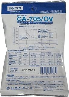 シゲマツ(重松製作所) 防毒マスク有機ガス用吸収缶 CA-705OV