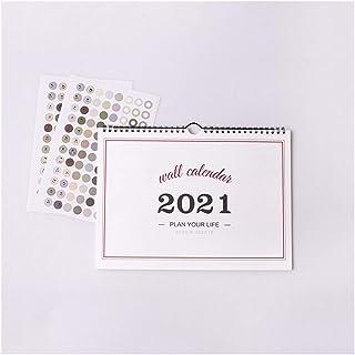 $51 » Taoyouzj Desktop Calendar 2021 2021 Simple Wall Calendar Weekly Monthly Planner Agenda Organizer Home Office Hanging Wall ...