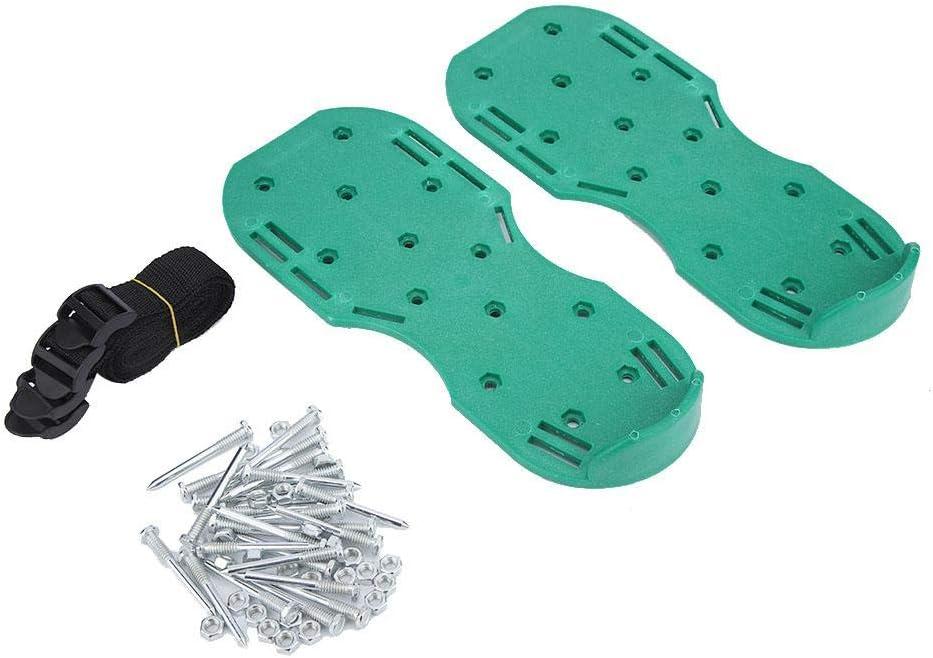 Topzon Grass Baltimore Mall Nail Shoes Limited price - Yard Lawn Aerator Garden Grasspl