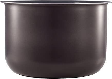 Instant Pot Ceramic on-Stick Interior Coated Inner Cooking Pot, 6 Quart, (6 qt ceramic inner pot)