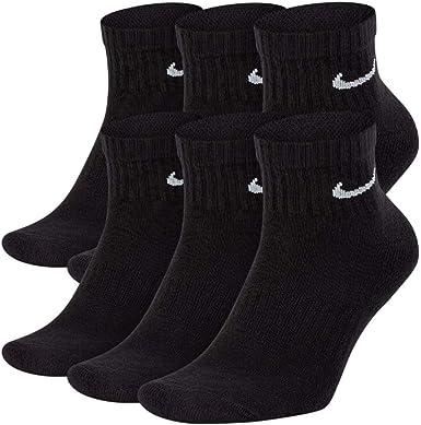 New 2019 NIKE Performance Cotton Cushion Socks for Men and Women  Running/Walking/Training (6-Pair)