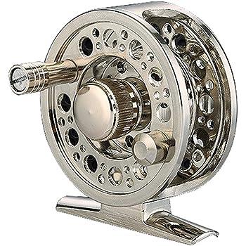 ZREAL Volle Moulinet de pêche en métal 2 + 1 BB 1 : 1 Alliage d'aluminium moulé sous Pression Moulinet de pêche
