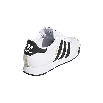 adidas Originals Kids Samoa (Big Kid) (Footwear White/Core Black/Footwear White) Kids Shoes