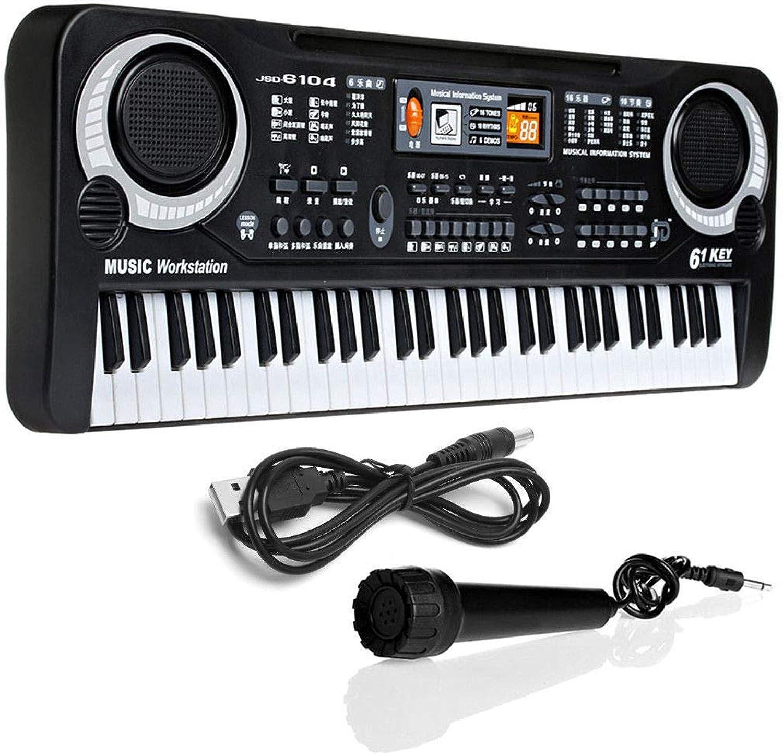 FidgetGear 61 Keys Digital Music Electronic Keyboard Key Board Gift Electric Piano Gift New