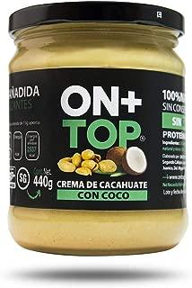 ONTOP CREMA DE CACAHAUTE CON COCO 440g