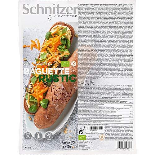 Schnitzer Bio Baguette Rustic (1 x 320 gr)