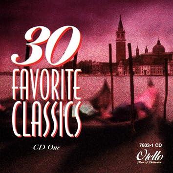 30 Favorite Classics: Volume 1