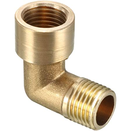 1//4 Bsp Male to 1//4 Bsp Female Elbows  Fittings 1 Off
