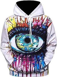 3D Graphic Printed Hoodie Sweatshirt Galaxy Fleece Starry Sweatshirts Casual Pullover Hoodie