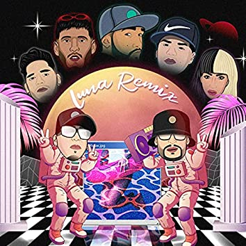 Luna (feat. Gabo Fms, Abraham The Nene, LEGA VZLA, K-Triel, Gustavo Bk & 21 Shan) [remix] (remix)