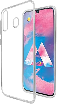 Casotec Soft TPU Back Case Cover for Samsung Galaxy M30 - Clear