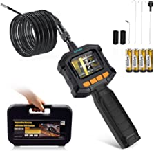 ERAY Industrial Endoscope with 2.3inch Color LCD Screen Handheld Pipe Borescope Inspection Camera 3.3FT Flexible