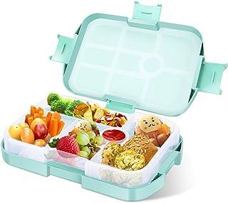 Iloda® 9x Brotdose für Kinder aus Kunststoff Brotbüchse Lunchbox Butterdose
