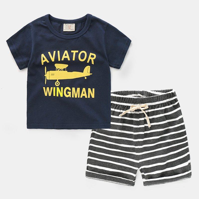 オメガオーストラリア2019ニューキッズサマーボーイTシャツコットンの子供の半袖の赤ん坊のシャツラウンドネックスリーピース