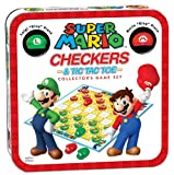 Super Mario Checkers & Tic Tac Toe Collector's Game