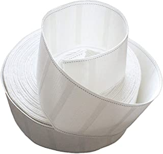 10 Meters Long Drapery Curtain Heading Polyester Cloth Pinch Pleat Tape 3-inch Width White