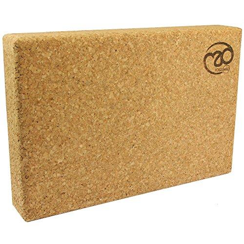 Yoga-mad Cork Yoga Block Bloque, Unisex Adulto, Corcho, 305 x 205 x 50 mm