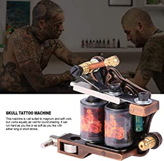 Body Art Machine, Professional Tattoo Gun, Tattoo Supplies for Home Tattoo Artists Beauty Salon Personal