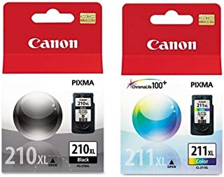 Canon CL-211 XL, PG-210 XL Cartridge (1, Black & Color)