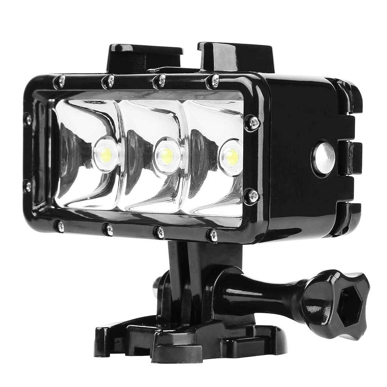 Cimaybeauty Diving Fill Light for DJI Osmo Action, Waterproof 40m 3LED Underwater Flashlight,300Lumen Max,3 Lighting Modes
