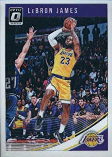 2018-19 Donruss Optic  94 LeBron James Los Angeles Lakers Basketball Card ae4ebff9c
