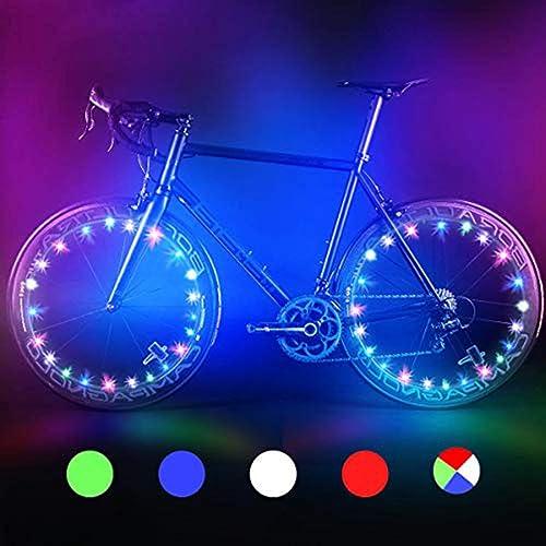 ccb14dcec Bodyguard LED Bike Wheel Lights, Automatic and Manual Lighting, Waterproof  Bicycle Wheel Light String