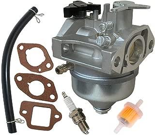 Fuerdi GCV190 Carburetor for Honda GCV190 GCV190A GV190LA Engines Carb with Gasket Spark Plug Kit