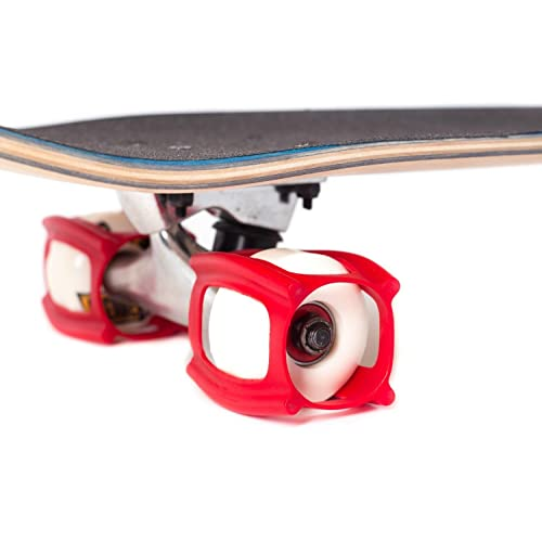SkaterTrainer 2.0, The Rubber Skateboarding Accessory for Perfecting Your Ollie and Kickflip - Learn,
