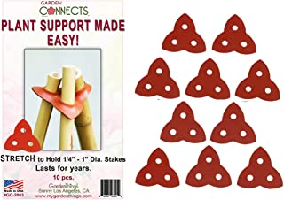 Easy Plant Support Stretch 3-Hole Conncters, 12-Pack