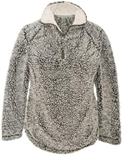 Wal-Mart Stores, Inc.Member's Mark Womens 1/4 Zip Cozy Sherpa Pullover