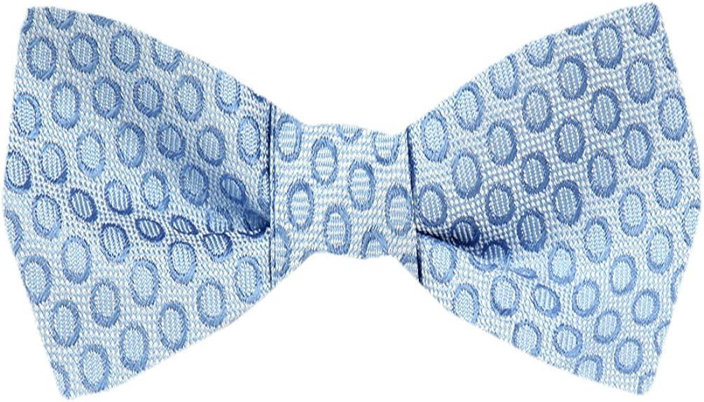 FBTZ-1528 - Men's Silk Self Tie Bowtie Tie Yourself Bow Ties