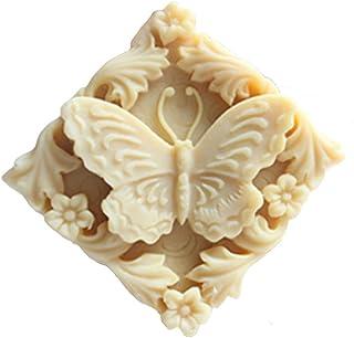 シリコーン型バタフライ蝶石鹸の型の石鹸を製造することはモールド樹脂モールドの手作り石鹸型自作クラフトアート型フレキシブル1 pc