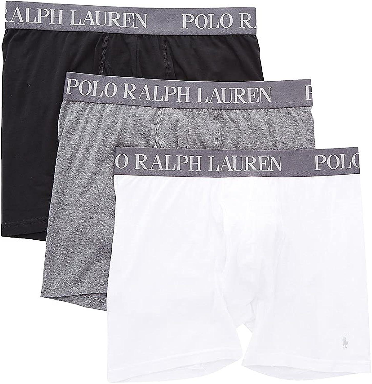 POLO RALPH LAUREN 4D-Flex Lightweight Boxer Briefs 3-Pack