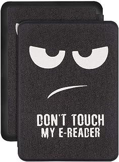 Capa Kindle 10ª geração com iluminação embutida – Auto Hibernação – Fecho Magnético – Don't Touch