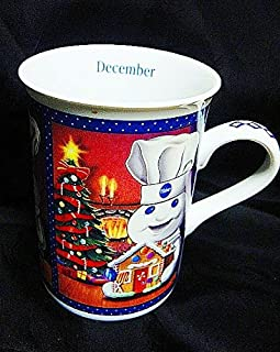Vintage 2001 The Pillsbury Doughboy DANBURY MINT Month of December
