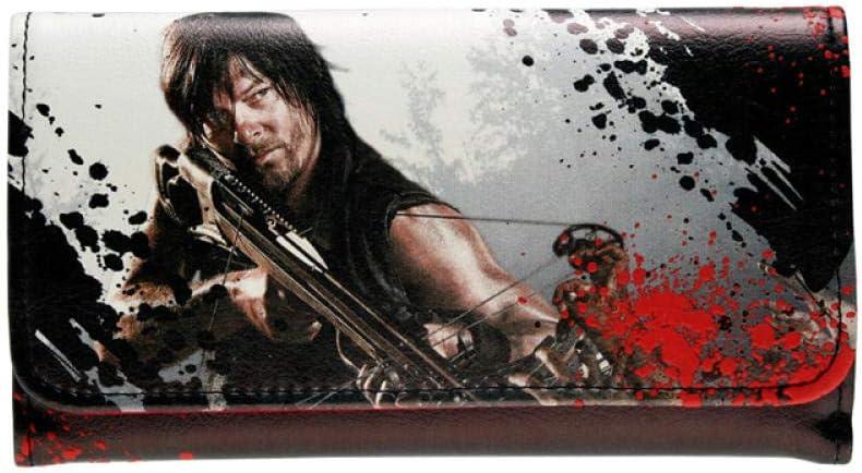 ZYSAJK Walking Dead Wallet Female Purse Lady Purses Women Card Dft1288 wristlet wallet women wallets wallet for women small wallets for women