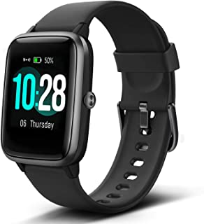 "Lintelek Smart Watch with 1.3"" LCD Full Touch Screen, Large Screen Fitness Tracker.."