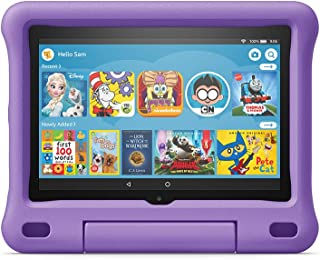 """All-new Fire HD 8 Kids Edition tablet, 8"""" HD display, 32 GB, Purple Kid-Proof Case"""