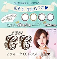 2ウィーク CCレンズ 6枚入1箱 【スノーナイトブルー】 -4.75