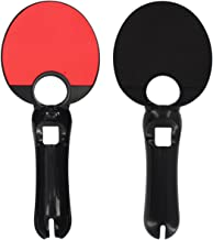 eForBuddy Ping Pong Paddle for Sony PlayStation 3 PS3 Move, Black, Red