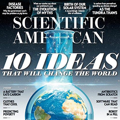 Scientific American, December 2016 audiobook cover art