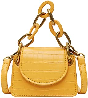 Shoulder Bag Ladies Bag Crocodile Leather Designer Bag, Chain Crossbody Bag