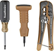 Southwire Tools & Equipment KIT-TP1 13-Piece Network Tool Kit - Cut, Strip, and Terminate Data Cables